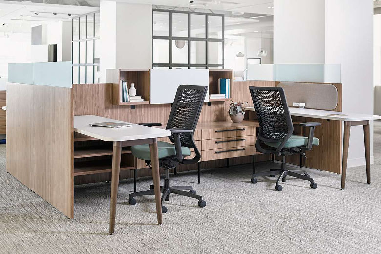 modern office furniture portland office furniture cubicles workstations adjustable arms seating and privacy walls