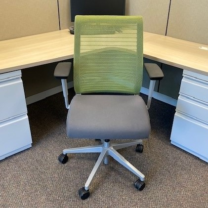used seating portland commercial furniture think green desk chair a